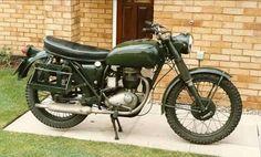Bsa WD B40 350cc unit single circa 1967