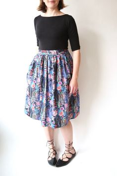 Liberty Cleo skirt / made by rae