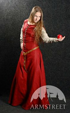 Medieval Dress with Detachable Sleeves Medieval Dream by armstreet, $126.58