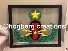 @hogberg creations can put your unit crest on glass.