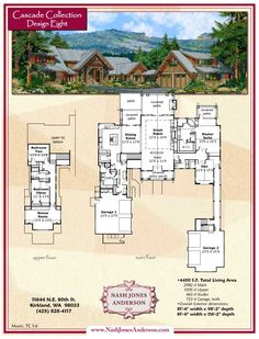 Nash Jones Anderson: Lodge Style Home Plans