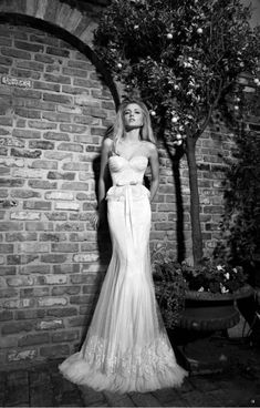 GALIA LAHAV WEDDING DRESS 2013 /2014 COLLECTION ... Strapless sweetheart bustier wedding gown ... Rustic glamorous, country elegance, shabby chic, vintage, whimsical, boho, best day ever