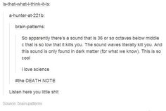 It actually is called the death note. There's also a brown note which supposedly makes you poop