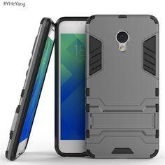 For Meizu M5 mini Meilan 5 Case Robot Armor Case Silicone Rubber Hard Back Phone Cover For Meizu Meilan M5 mini Case 5.2 inch