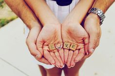 In this post there are 2 fundamental things about Love: the commitment of both for the love they share and their care to maintain it (photo idea by Kayleigh DuMond)