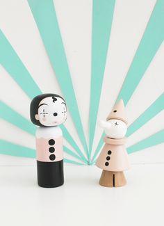 Sketchinc  & Lucie Kaas Clown Dolls