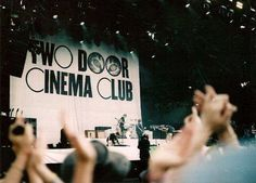 song Two Door Cinema Club indie indie band Concert british boys Something Good Can Work Music Is Life, My Music, Live Music, Two Door Cinema Club, Music Film, My Escape, Music Lyrics, Mixtape, Music Bands