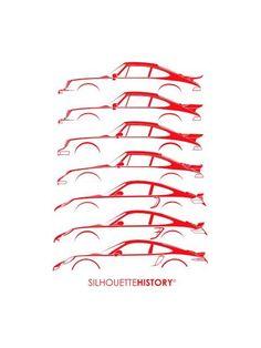 Resultado de imagen para silhouette car history porsche