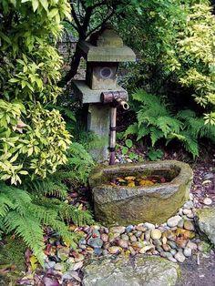 Idees per font en jardí japonés. Vols que et dissenyem el teu jardí? Visita el nostre blog i demana'ns pressupost.  Foto: Japanese #Garden Design #Ideas