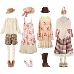 A fashion look from December 2014 featuring cotton dress, wool sweater and pink top. Browse and shop related looks.