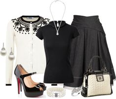 """A Touch of Pearls"" by jayhawkmommy ❤ liked on Polyvore"