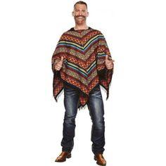 Déguisement poncho mexicain homme, poncho mexicain homme adulte, fêtes déguisées, carnaval, Mexique