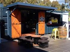 Shipping Container Cafe or 'Pop Up Cafe' is a great way to make your ...