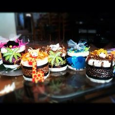 Diaper Cake Mini  One Item   Baby Shower Centerpieces / Gifts