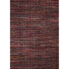 Madison By Rug Republic Cotton Solids/Handloom Tango Red Area Rug