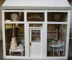 My Miniature Bakery | My Handmade Bakery Store Front....made… | Flickr