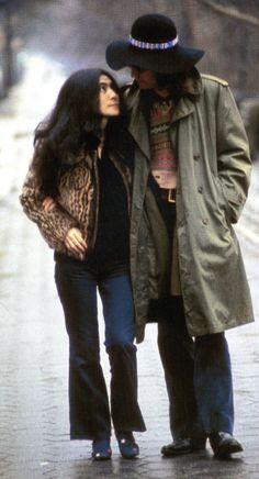 Love this pic of John and Yoko