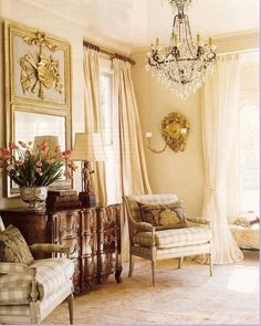 This room still has my heart so many years later. Perfectly designed French living room by @alixrico ✨✨ . . . . #alixrico #french…