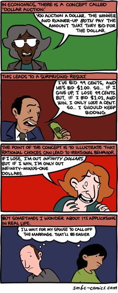 See Also: The Sunk Costs Fallacy And Escalation of Commitment - Comics from around the Web Sunk Costs, Smbc Comics, College Memes, Breakfast Cereal, Morning Breakfast, Saturday Morning, Funny Laugh, France, Funny Comics