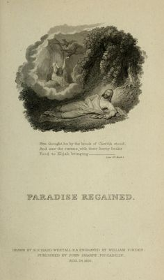 Paradise regained,  by Milton, John, 1608-1674  Published 1817    https://ia600405.us.archive.org/BookReader/BookReaderImages.php?zip=/24/items/paradiseregaine00milt/paradiseregaine00milt_jp2.zip&file=paradiseregaine00milt_jp2/paradiseregaine00milt_0017.jp2&scale=4&rotate=0