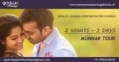 Kerala Honeymoon packages !!