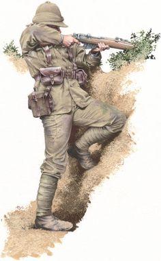 RWF Fusilier at Gallipoli.