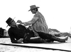 Once Upon a Time in the West. Henry Fonda and Charles Bronson Charles Bronson, 1 Film, Film Stills, Wild West Clothing, Sergio Leone, Henry Fonda, Tv Westerns, Roman, The Best Films