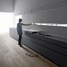 Image 2 of 8 from gallery of Kitchen cabinet - New Logica System | Valcucine.