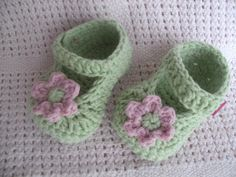 crochet summer shoe 03 months by littletotstoes2 on Etsy, $8.00