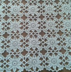 World crochet: Motive 198 Mode Crochet, Crochet Wool, Crochet Motifs, Crochet Squares, Thread Crochet, Irish Crochet, Crochet Doilies, Crochet Flowers, Crochet Stitches