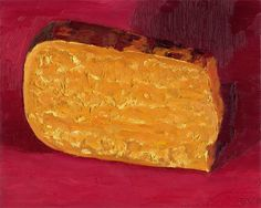 5 YEAR AGED GOUDA - I bought this aged gouda at Reading Terminal Market for the color and interesting veins of crystalized strata of goodness. It was much more difficult than I expected.  It was completely delicious though. I particularly love nutty cheeses and this one was almost like candy to me. I've been told it's considered the only American Cheddar that can hold up to European standards. I certainly fell in love with it.