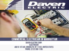 Daven Electric is an established and award-winning Electrical Company with a passion for providing quality Electric Service to our clients in New York City and the surrounding areas. We offer Commercial Electric Installation services to individuals, companies, government agencies, and private organizations that require the most advanced technology and high-quality service available today. Daven Electric Corp. Electrician 4601c 1st Ave, Brooklyn, NY 11232, United States Phone: 212-390-1106 Commercial Electrician, Government Agencies, Professional Electrician, Electric Company, Organizations, Brooklyn, United States, Nyc, Passion