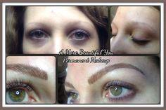 Microblading eyebrows!
