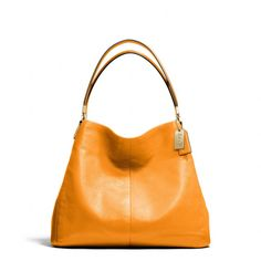 The Madison Small Phoebe Shoulder Bag In Leather from Coach. Color, not so much the shape.