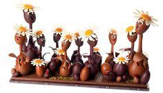 Chocolats de Pâques par La Maison du Chocolat © DR