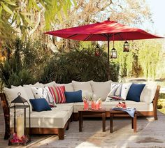 patio (mk) I like the furniture and the umbrella and the lanterns and that there is color