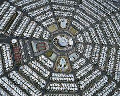 Arte e Arquitetura: Fotos aéreas da expansão urbana nas cidades americanas