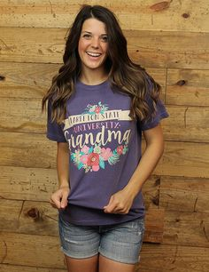 Don't forget to grab this Comfort Colors tee for your Tarleton Grandma! She'll be sure to love it!! BLEED PURPLE