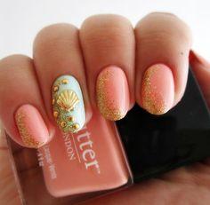 Mermaid nails #ManicureMonday