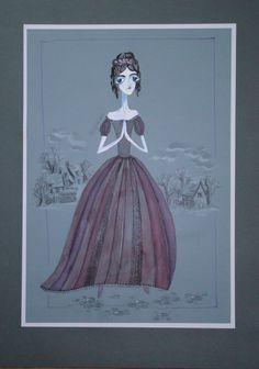 "CHARLES DICKENS ""A CHRISTMAS CAROL IN PROSE"",2014 violetta korneva"