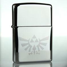 Legend of Zelda lighter by Knot Lot - bridal/groomsmen gift