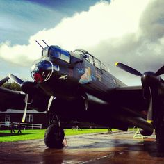 "Lancaster bomber called ""Just Jane"""