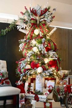 Quick Ways to Decorate your Christmas Tree #christmas #christmastree #christmasdesign