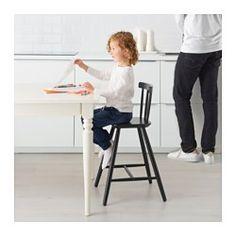 AGAM Junior chair, black - - - IKEA