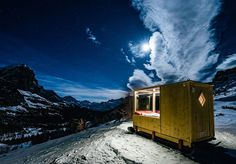 Sleep Under The Stars In Luxury At The Dolomites Starlight Room - #Dolomites, #Italy, #StarlightRoom