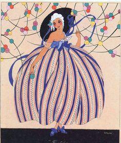 """Martha Romme   'Fructidor'   (""""Les Douze Mois de l'Année"""", 1920)"""
