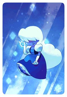 Sapphire is one of my favourites even though she's only seen a little in the episode jailbreak she and Ruby are awesome together