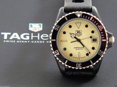 Rare Heuer 1000 Nightdiver Lumi dial James Bond The living Daylights 980.031L