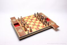 Taracea chess set
