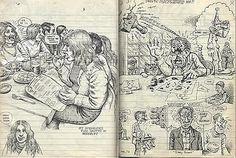 Robert Crumb sketchbook c. Robert Crumb, Moleskine, Sketchbook Inspiration, Art Sketchbook, Fritz The Cat, Artist Journal, Comic Book Artists, Comic Art, Pop Art